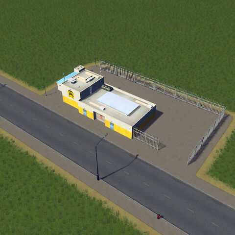 In-game taxi depot