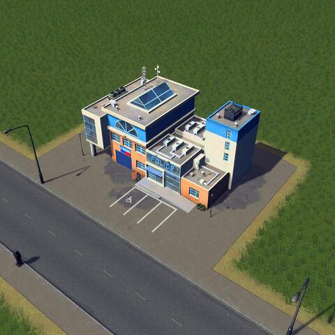 In-game police station