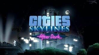 Cities Skylines, After Dark Expansion - Reveal Teaser - GAMESCOM 2015