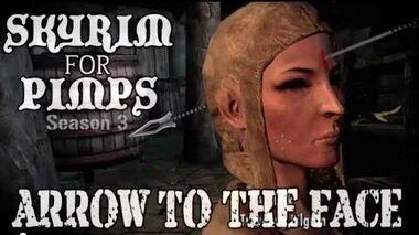 Skyrim For Pimps - Arrow to the Face (S3E07) Dawnguard Walkthrough-0