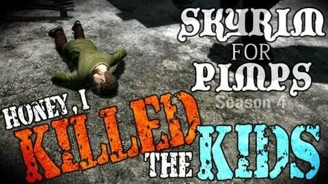 Skyrim For Pimps - Honey, I Killed the Kids (S4E03) Hearthfire Walkthrough-1