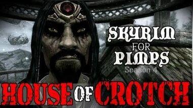Skyrim For Pimps - House of Crotch (S4E01) Hearthfire Walkthrough-0