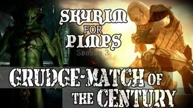 Skyrim For Pimps - Grudge Match of the Century (S3E12) Dawnguard Walkthrough-1