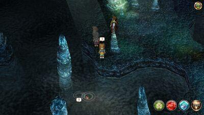 FS-Underground Lake Depths