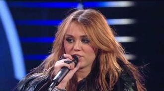 Miley Cyrus - Can't Be Tamed (Live)