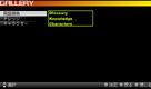 Menu - Glossary Screen