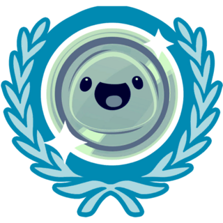 The icon shown when you get a Silver Achievement.