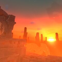 A teaser of a Firestorm about to start in The Glass Desert.