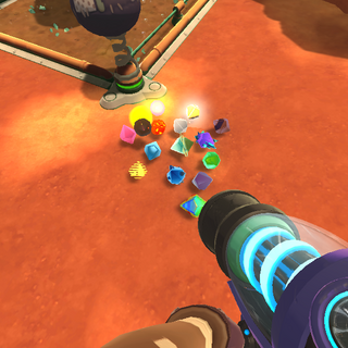 All plorts in the game clustered together (0.6.0)