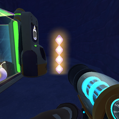 Stacked phosphor plorts