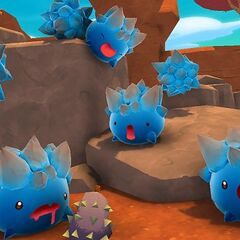 Some ingame Rock Slimes