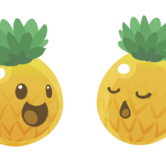 Pineapple Slime by Hachiseiko