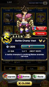 Battle Champ Vest