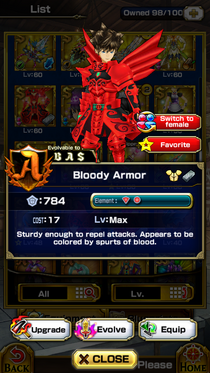 Bloody Armor (M)