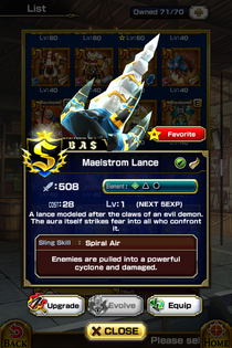 Maelstrom Lance
