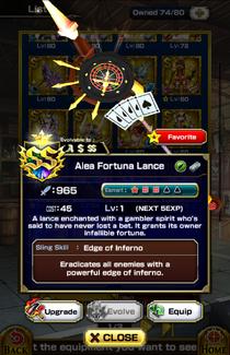 Alea Fortuna Lance