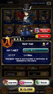 Noir Hat