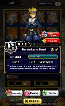 Berserker's Band M