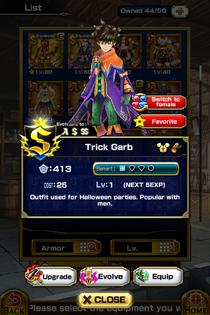 Trick Garb