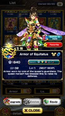 Armor of Equitatus (F)