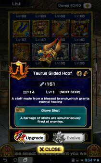 Taurus Gilded Hoof