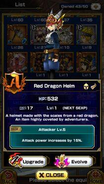 Red Dragon HelmM