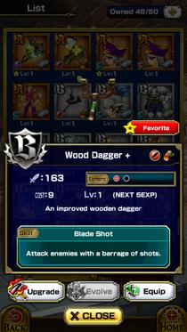 Wooden Dagger +