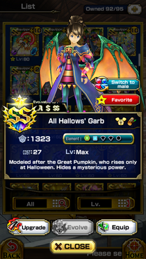 All Hallows' Garb (F)