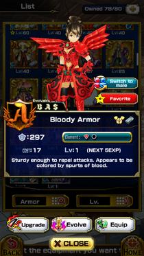 Bloody Armor