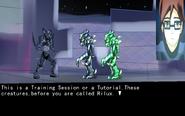 Gunma game screenshot- training session