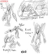Xeo run artwork-concepts