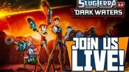 Join us LIVE as we play Slugterra Dark Waters App!