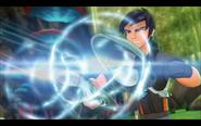 Eli using the unbeatable master blaster