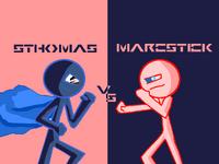 SthomasvsMarcstick