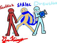 Scottick,StAlecAndDrewStickByVincetick