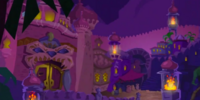 Rajan's palace