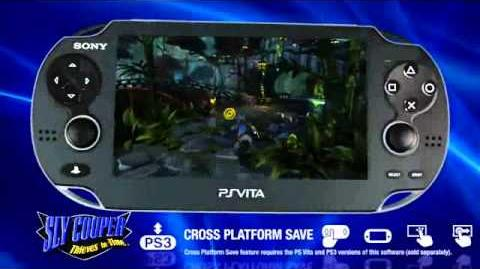 Sly Cooper 4 Thieves In Time NEW PS Vita Trailer