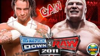 CM Punk vs Brock Lesnar Tribute SvR 2011 CAW