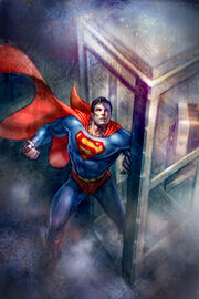 Superman Confidential Cover by andyparkart