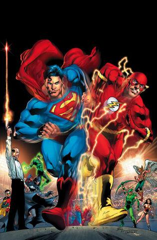 File:Superman Clark Kent vs The Flash Barry Allen.jpg