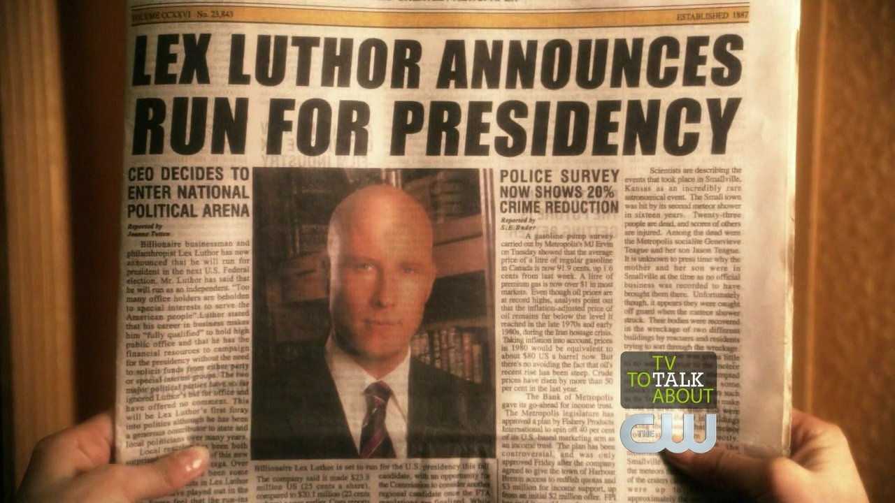 Image result for lex luthor president cover