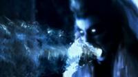 Siobhan McDougal aka Silver Banshee using her sonic scream