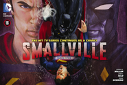 Smallville season 11 16 cover superBat