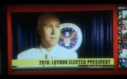 Smallville Lex for pres.