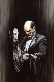 Batman Alfred Alexross Alfred005