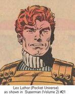 Lex luthor pocket universe