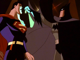 File:Superman DCAU Batman makes a point.png