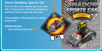 Zoom Shadow Sports Car