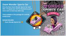 Zoom wonder sports car 2