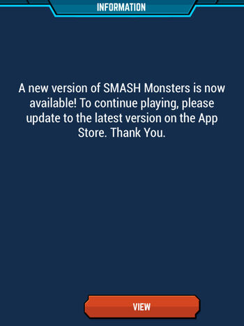Update App To New Version